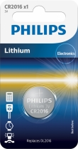 10x Philips Lithium CR2016 (blister 1)