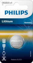 10x Philips Lithium CR2025 (blister 1)