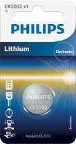 10x Philips Lithium CR2032 (blister 1)