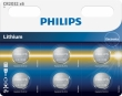 60x Philips Lithium CR2032 (blister 6)