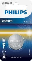 10x Philips Lithium CR2450 (blister 1)