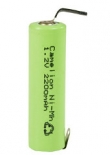 150 x Camelion Rechargeable NimH AA/LR6  2200mAH with soldertags